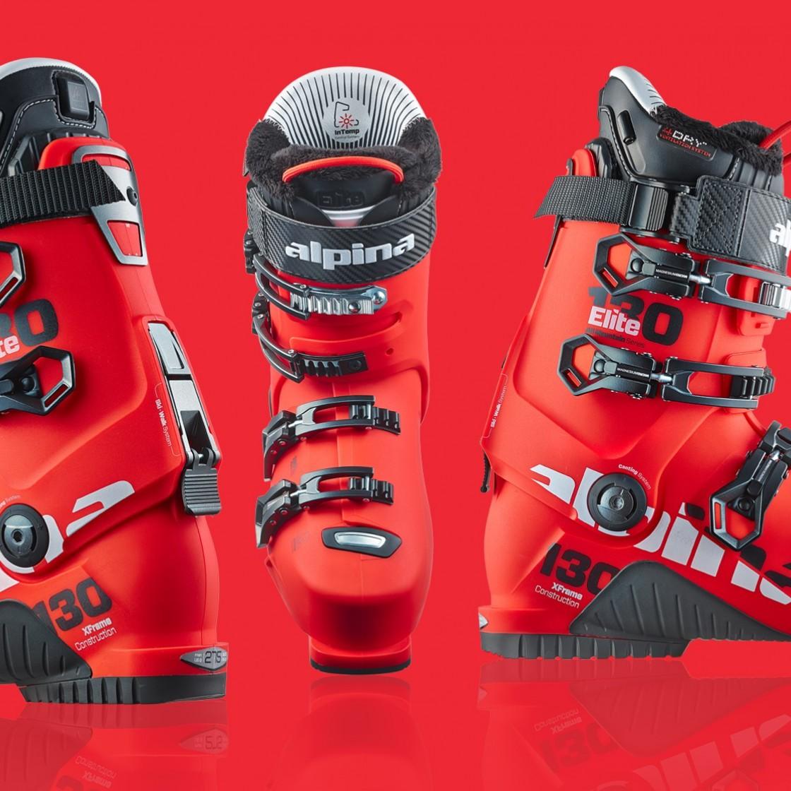 Alpina Elite 130 Ski Boots | Gigodesign